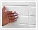 仕上げ塗装劣化(手で触ると取れる)